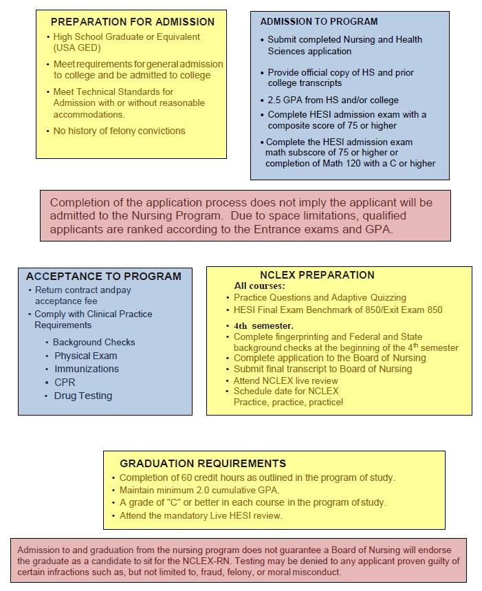 NURSING AAS Process